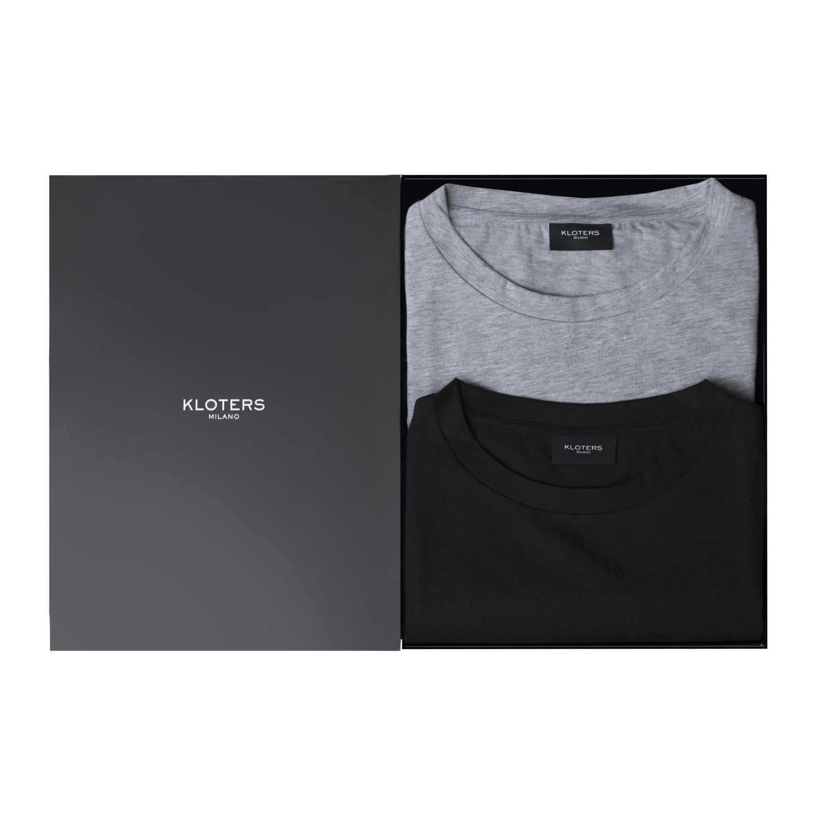T-shirt Pack: Black & Grey - kloters