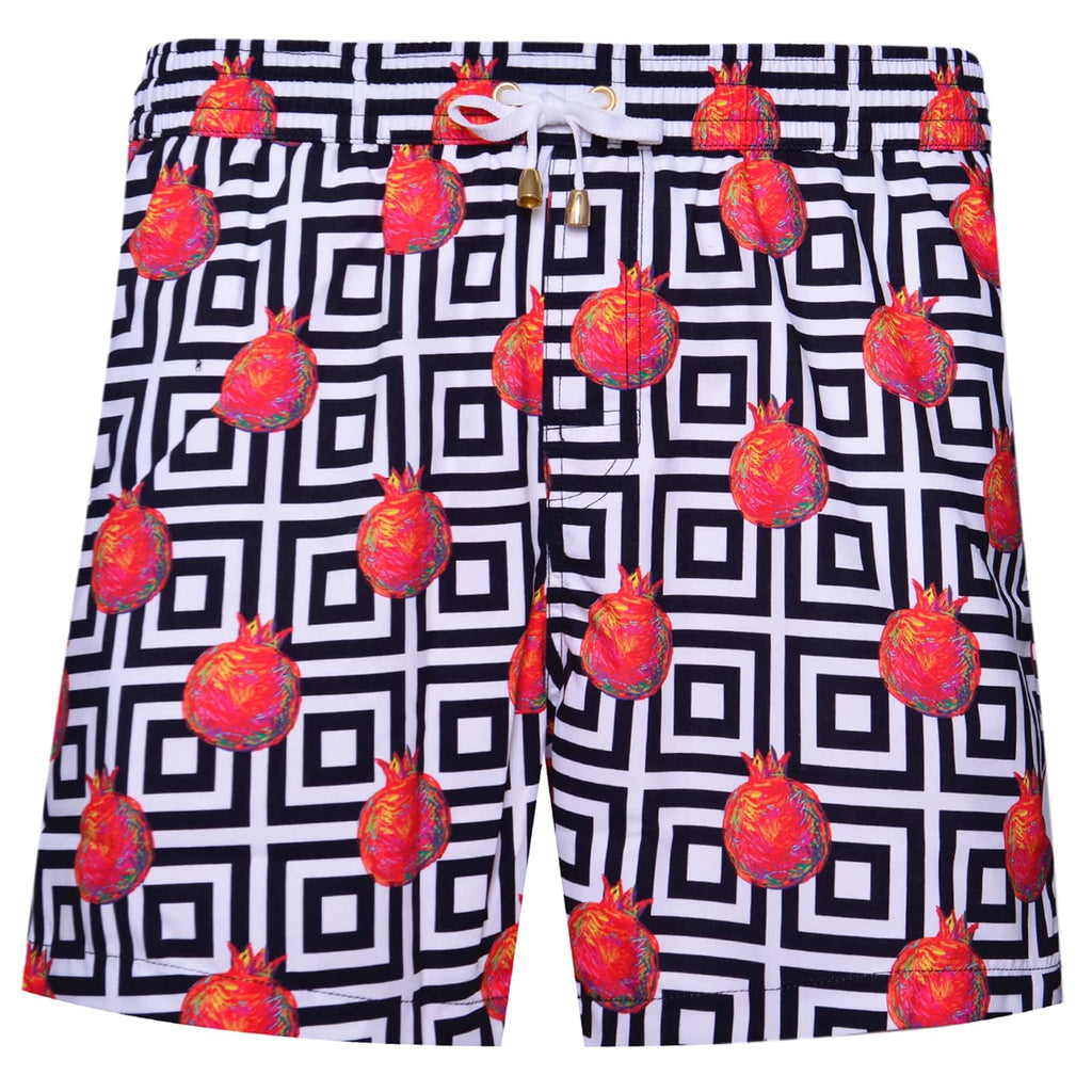 Pomegranate Swim Shorts - kloters