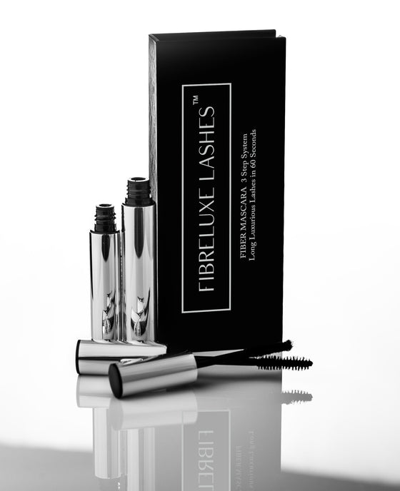Fibreluxe Lashes, Fiber Mascara, improve the appearance of your lashes in 60 seconds.