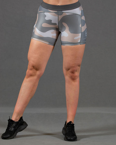 2851fe76e Conquer treningsshorts dame - Army