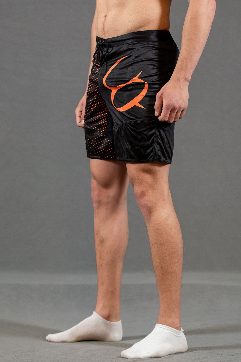 Conquer treningsshorts herre - Oransje