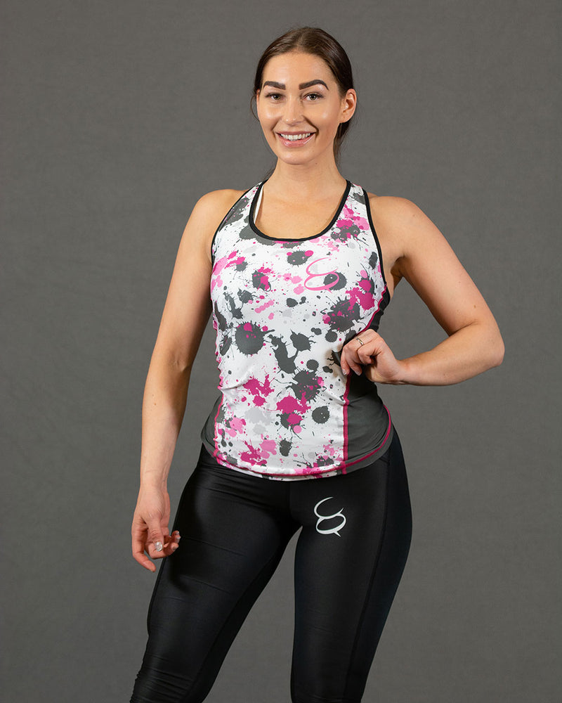 Conquer treningssinglet dame - Pinky Sport