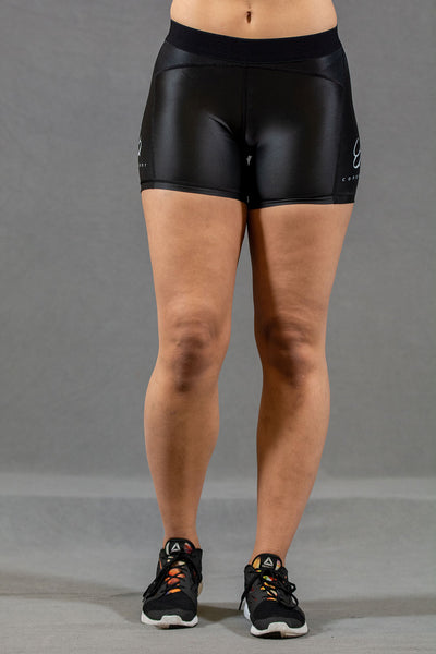 f6eb01457 Conquer treningsshorts dame - Sort