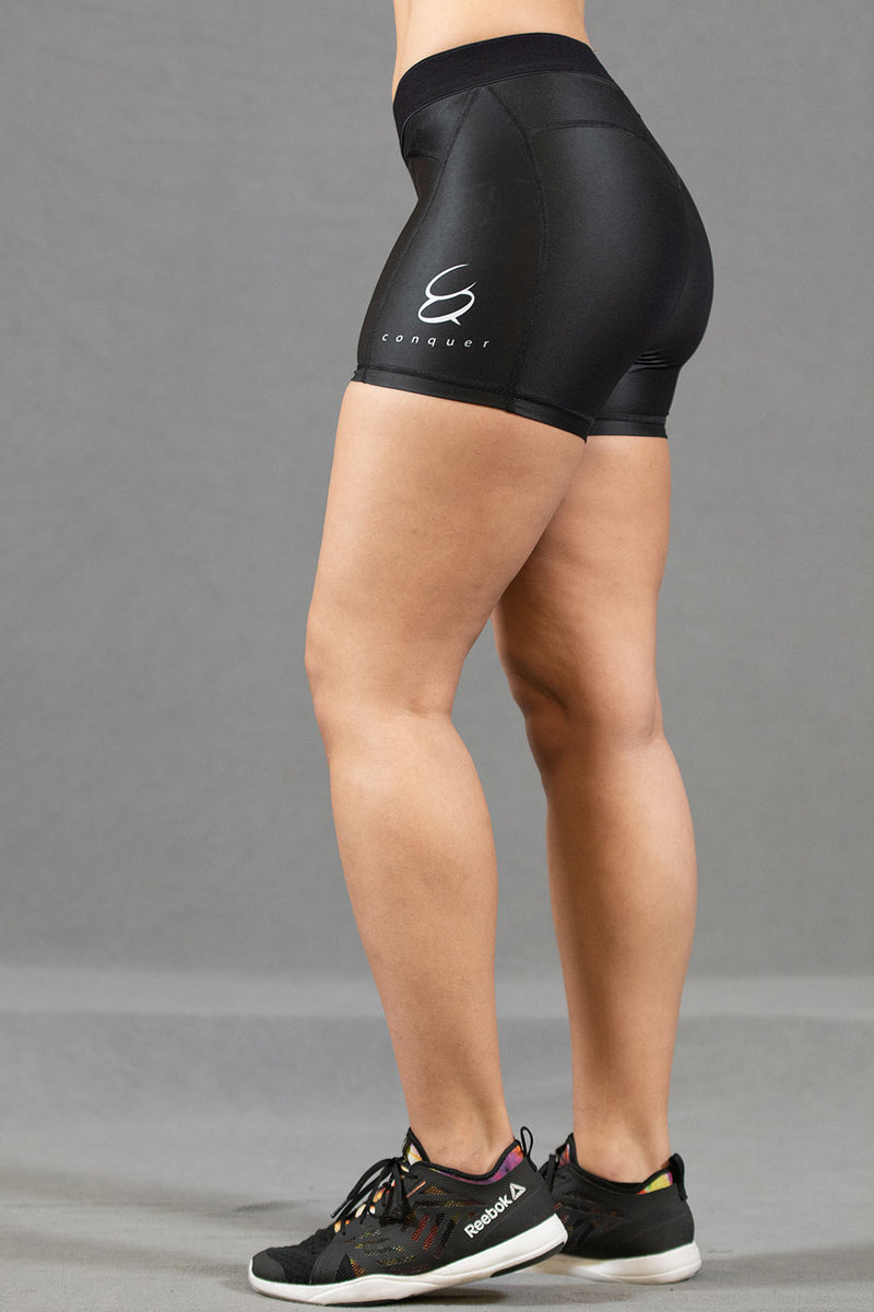 Conquer treningsshorts dame - Sort