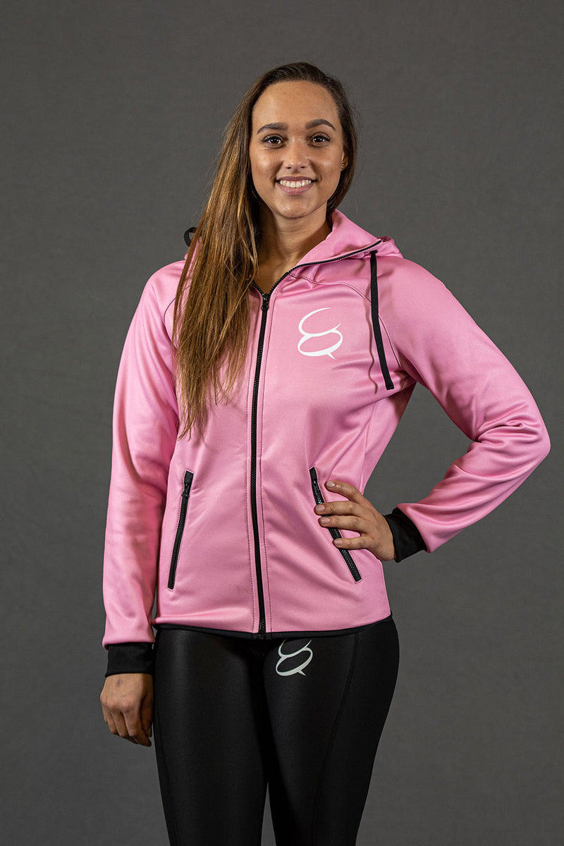 Conquer - Zip Hoodie - Pink Dame
