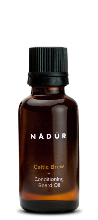 100% natural, vegan Argan and Jojoba beard oil