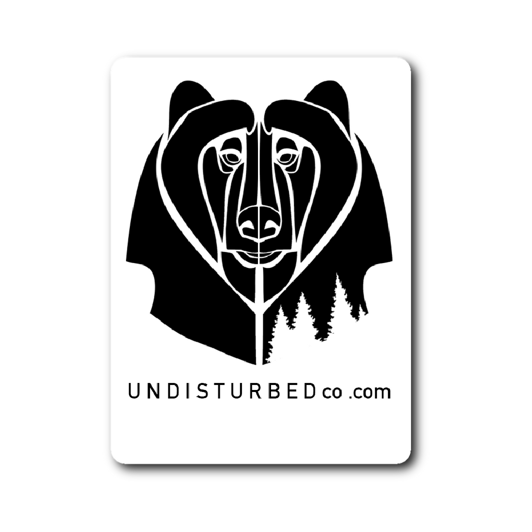 Undisturbed Sticker