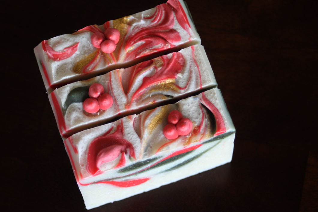 Holly Berry Soap
