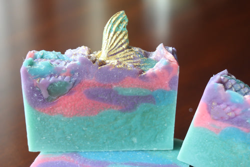 Mermaid Tail Soap