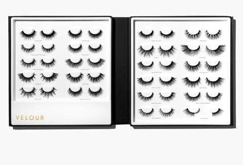 Velour Lash Book