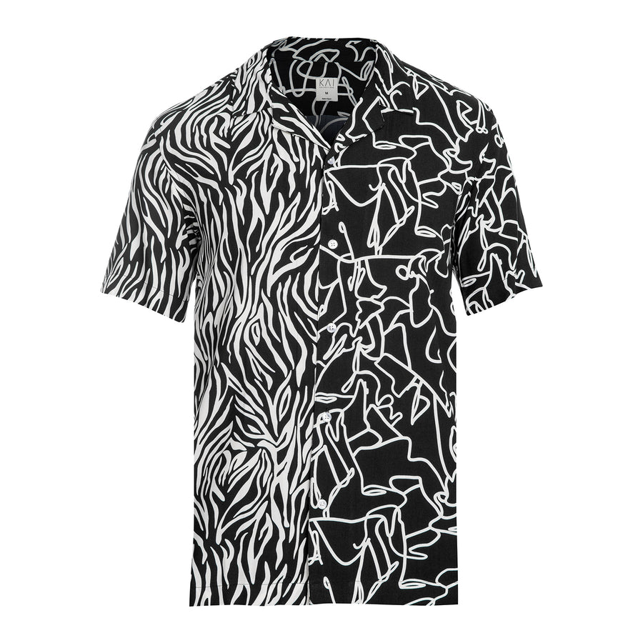 Zebra Two Tone Shirt