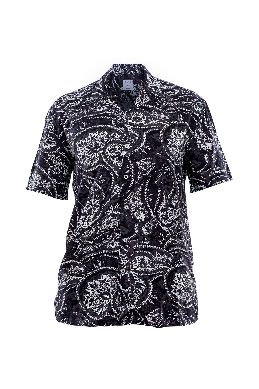 Black Paisley Shirt