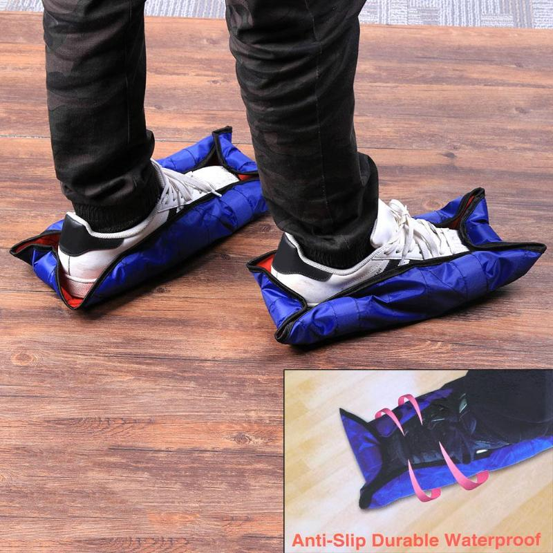 HAND-FREE SHOE COVERS