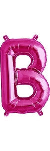 "16"" Pink Letter B Balloon"