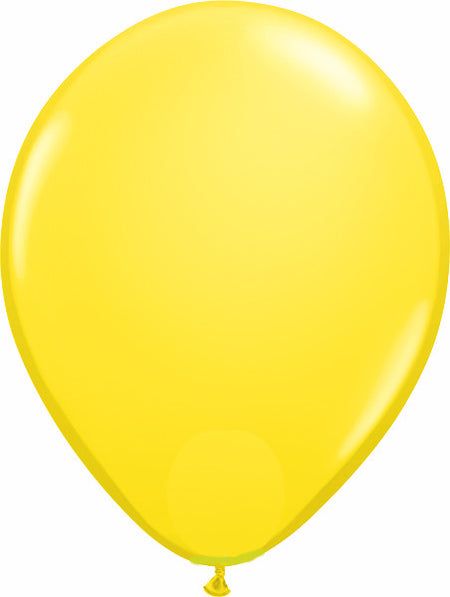 "11"" Yellow Round Latex"