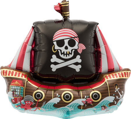 "14"" Pirate Ship"
