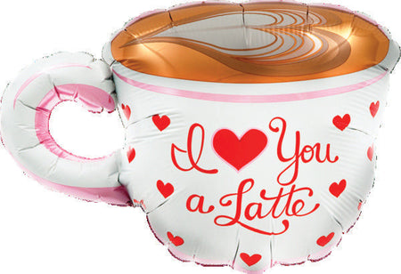 "14"" I Love You A Latte"