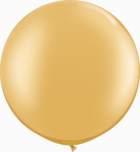 "30"" Metallic Gold  Round"