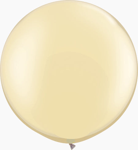 "30"" Pearl Ivory  Round"