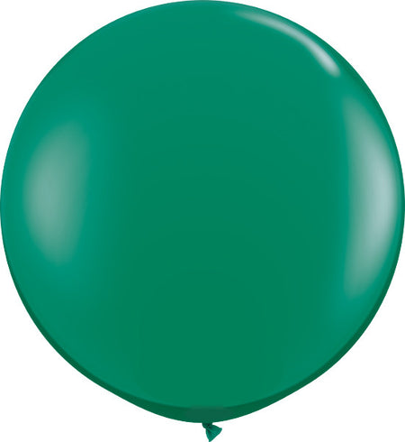 "36"" Emerald Green Round (Transparent)"