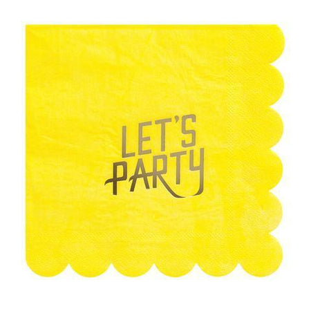 Let's Party Large Napkins