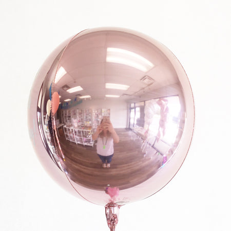 "16"" Rose Gold Orb Balloon"