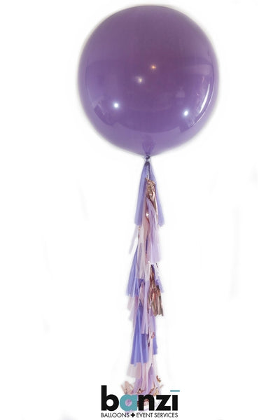 "36"" Amethyst Lilac Latex & Double Tassel"