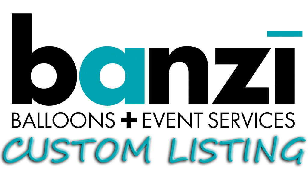 Custom listing for Delta Faucet – Banzi Balloons + Event Services