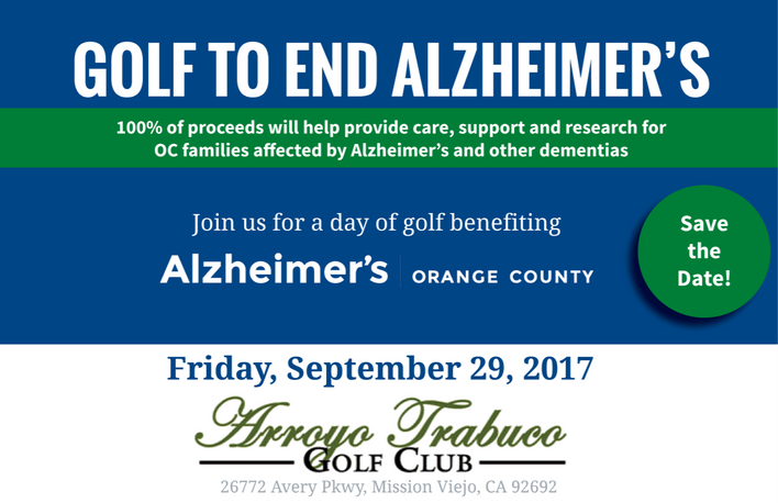 Golf to end Alzheimers
