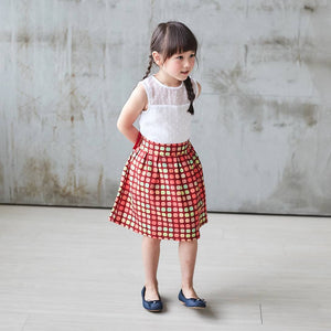 Candy Canes skirt (infant/toddler/girl)