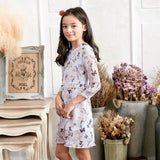 Floral Lace Dress (toddler/girl) - Bunny n Bloom Mommy & Me Dress