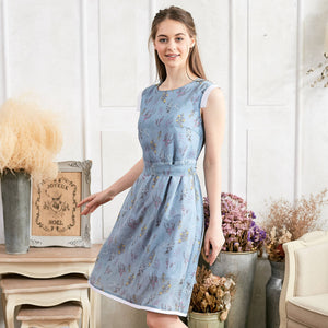 Blue Floral Dress - Bunny n Bloom Mommy & Me Dress