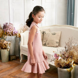 (Mommy & Me) Pink Ruffle Drop Waist Dress (set of 2) - Bunny n Bloom Mommy & Me Dress