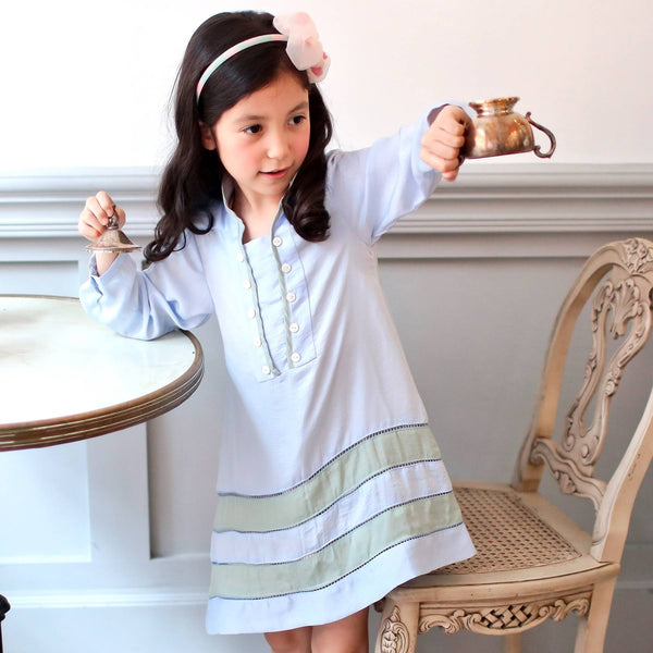 Dreaming swing dress (blue) - Bunny n Bloom Mommy & Me Dress