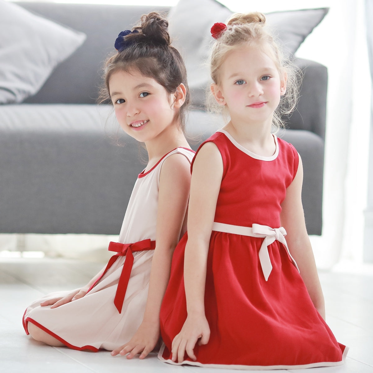 Butterfly Swing Dress (pink) - Bunny n Bloom Mommy & Me Dress