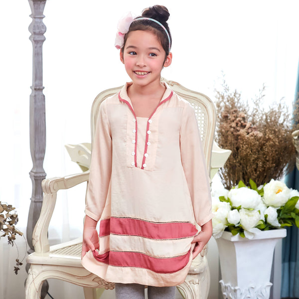 Dreaming swing dress (pink) - Bunny n Bloom Mommy & Me Dress
