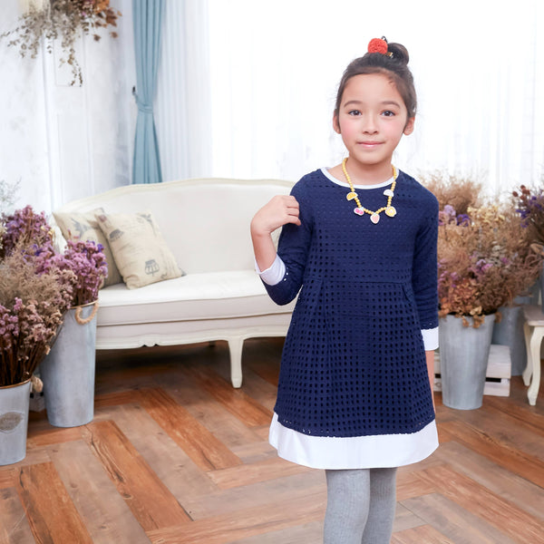 Sweet sunshine dress (blue) - Bunny n Bloom Mommy & Me Dress