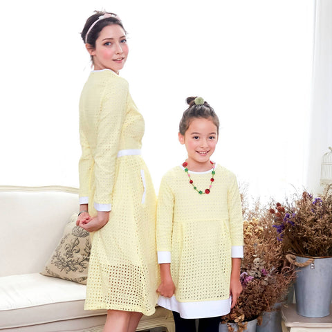 (Mommy & Me ) Sweet sunshine dress (set of 2) - Bunny n Bloom Mommy & Me Dress