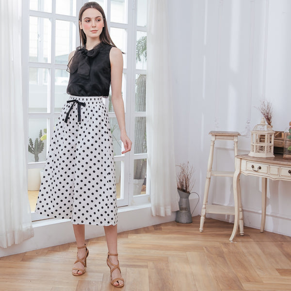 Merry Bubble Matching Cotton Woman Culottes (Pre-order, ship by 3/29)