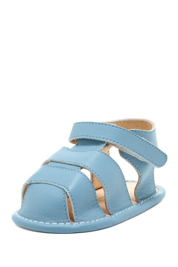 Blue Classic Fisherman Sandals - Petit Confection