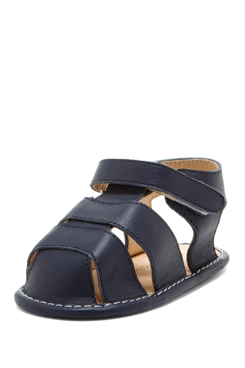Navy Classic Fisherman Sandals