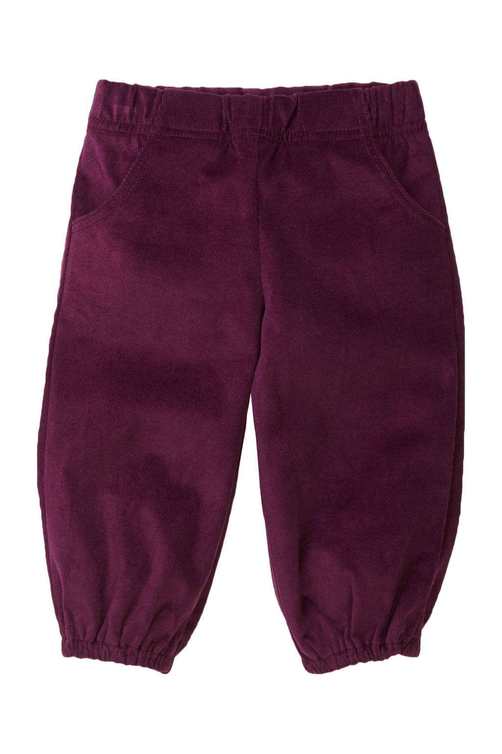 Plum Corduroy Pants