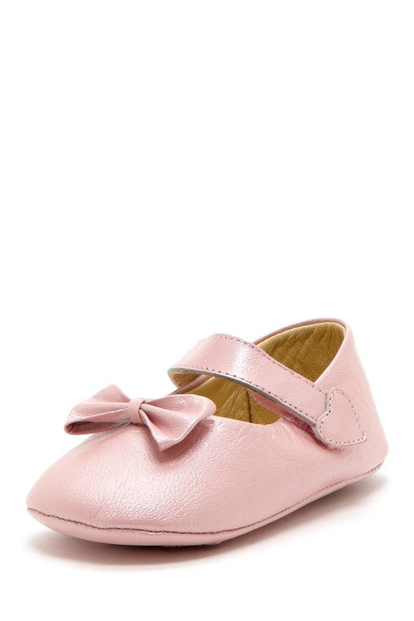 Blush Bow Heart Mary Janes