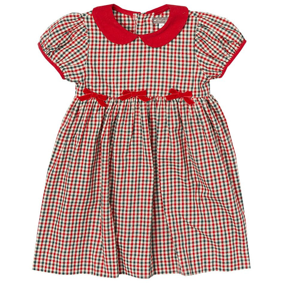 Red Checkered Dress
