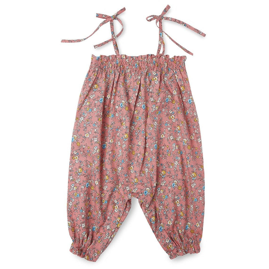 Liberty Smocked Playsuit