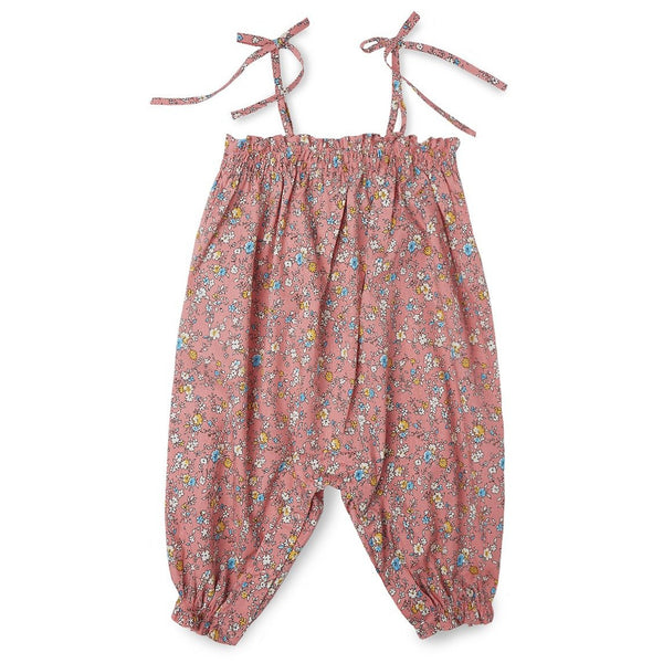 Liberty Print Smocked Playsuit