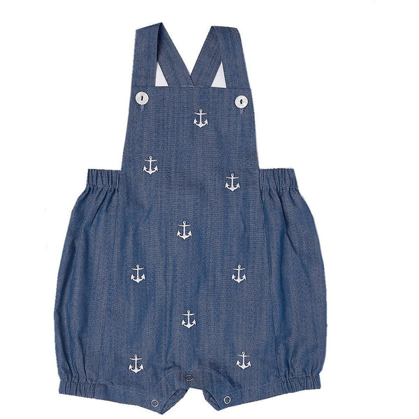 Anchor Chambray Romper