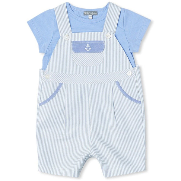 Anchor Overalls + Tee Set