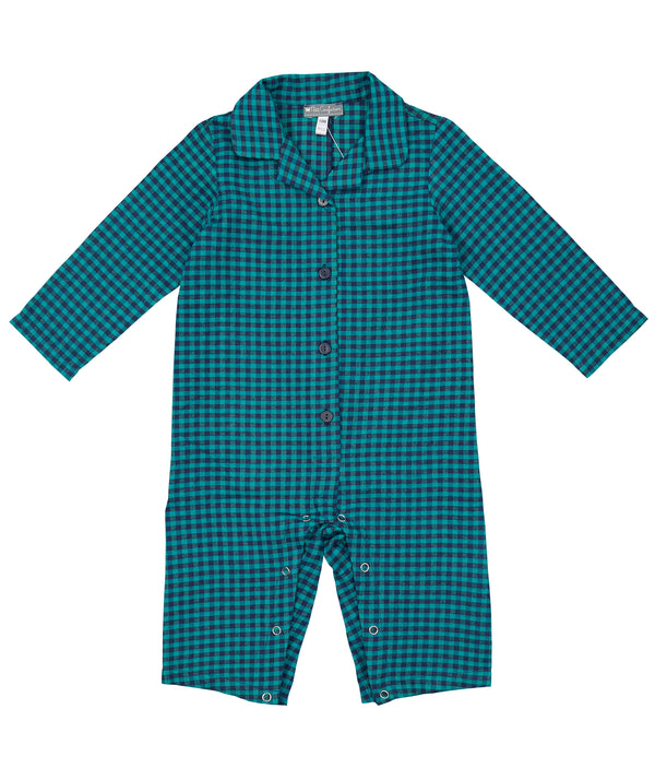 Checkered Flannel Coveralls