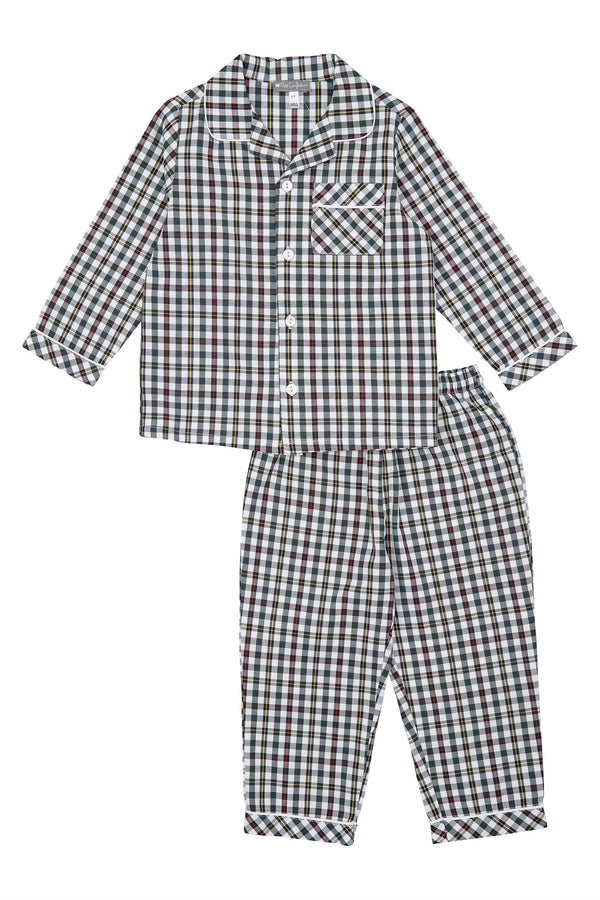 Christmas Plaid Pajamas Set